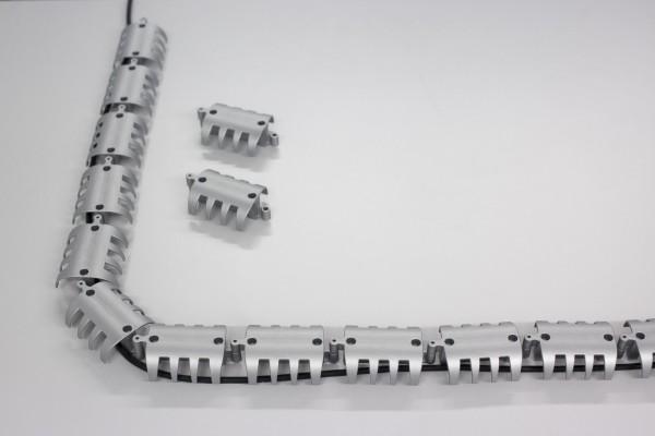 Kabelspirale horizontal