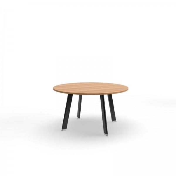 135x74cm (BxH), Balma Konferenztisch Simplic, rund