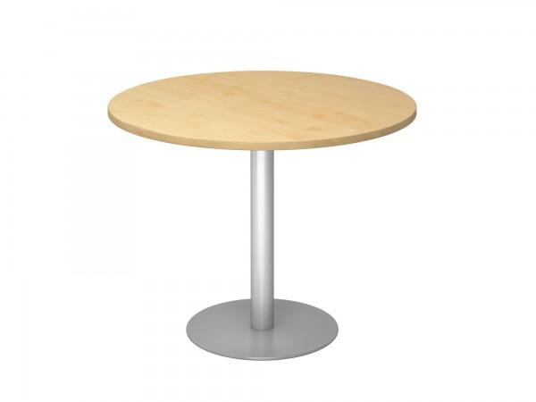100cm, Besprechungstisch STF10, runde Tischplatte