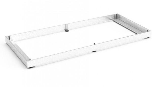 Balma J-System Metallsockel für Eckregale rechts 38x41cm