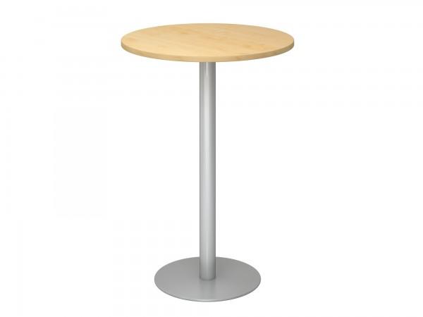 80cm, Stehtisch STH08, runde Tischplatte