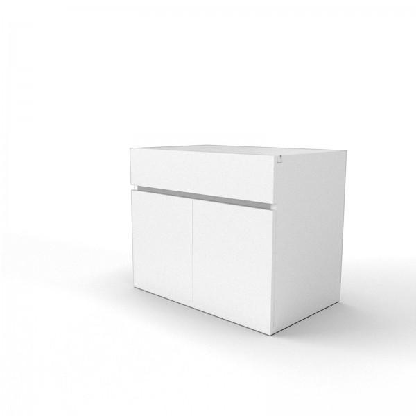 Anstellschrank mit Schublade MIXT: 80x50x65cm (BxTxH)