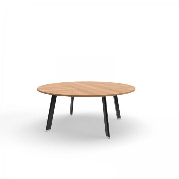 180x74cm (BxH), Balma Konferenztisch Simplic, rund