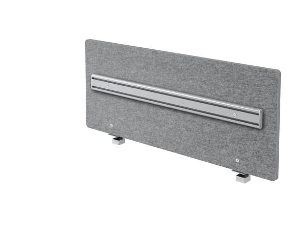 Akustik-Trennwand ARO12 120cm, mit Orga-Schiene