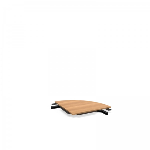 90x90cm (BxT), Balma Simplic Verbindungsstück 90° für Modulkonferenztische