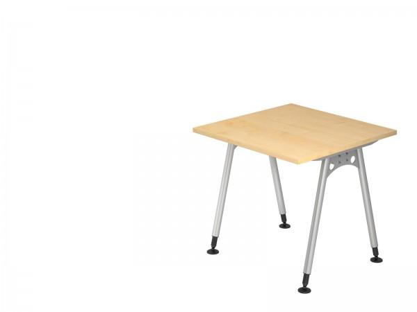 80x80cm, rechteckig, Schreibtisch AS08 von Hammerbacher