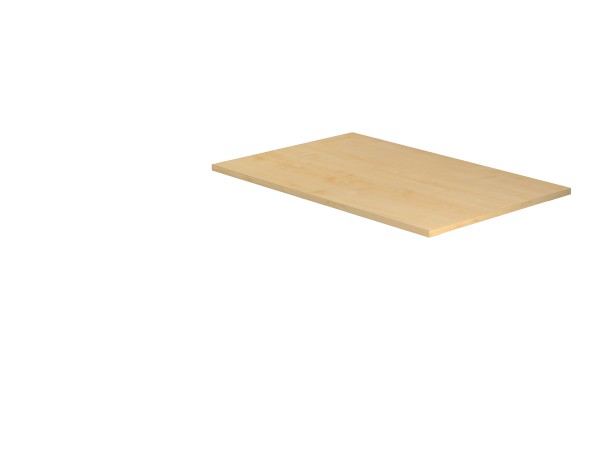 Tischplatte 140 x 80 cm