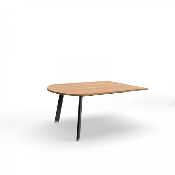 155x125x74cm (BxTxH), Balma Modulkonferenztisch Simplic, Endungselement