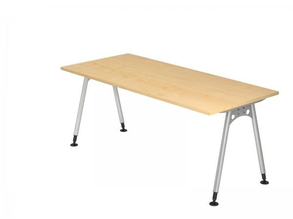 180x80cm, rechteckig, Schreibtisch AS19 von Hammerbacher