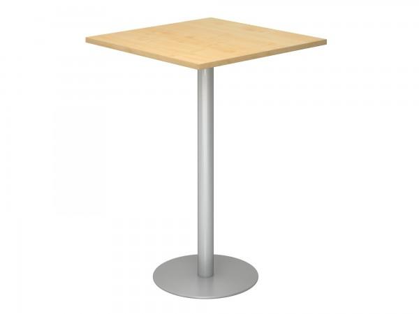 80x80cm, Stehtisch STH88, rechteckige Tischplatte