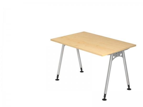 120x80cm, rechteckig, Schreibtisch AS12 von Hammerbacher