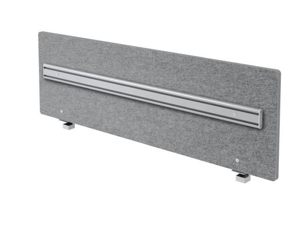 Akustik-Trennwand ARO16 160cm, mit Orga- Schiene
