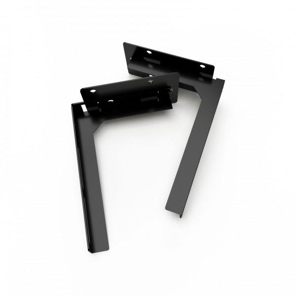S² Rückwandhalter, schwarz