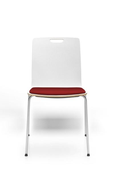 4- Fuß Gestell, Sitz gepolstert, Konferenzstuhl Com von Profim