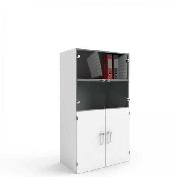 Balma J-System Schrank mit Glas-/Türen 80cm