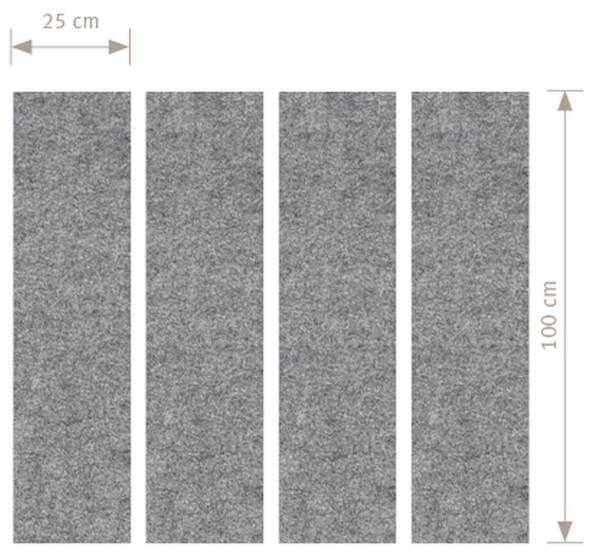 Akustik- Wandelement Variante 2