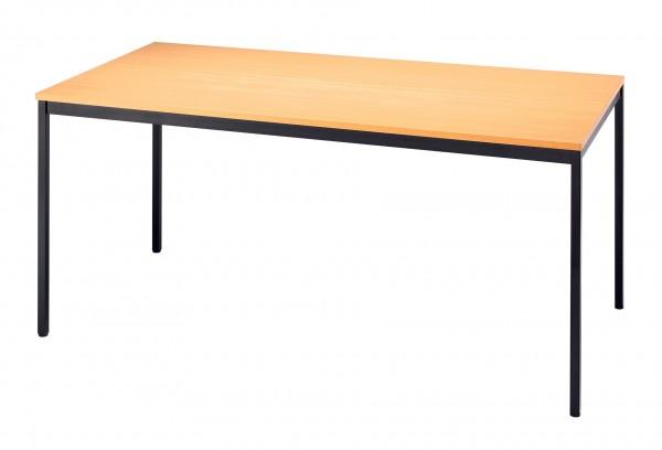 160x80cm, Vierkantrohr, Besprechungstisch VS16 von Hammerbacher