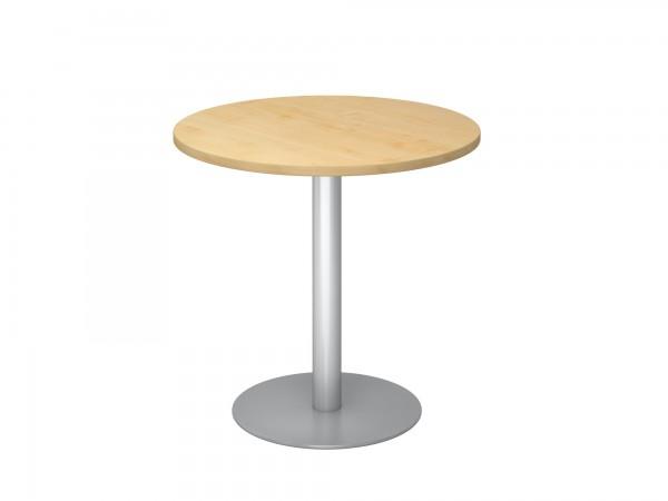 80cm, Besprechungstisch STF08, runde Tischplatte