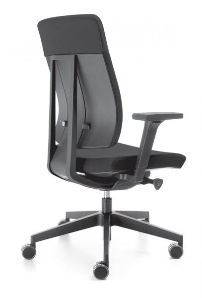 Profim Drehstuhl Xenon 10SFL, hohe Rückenlehne, Synchronmechanik, Sitztiefen- und Sitzneigeeinstellu