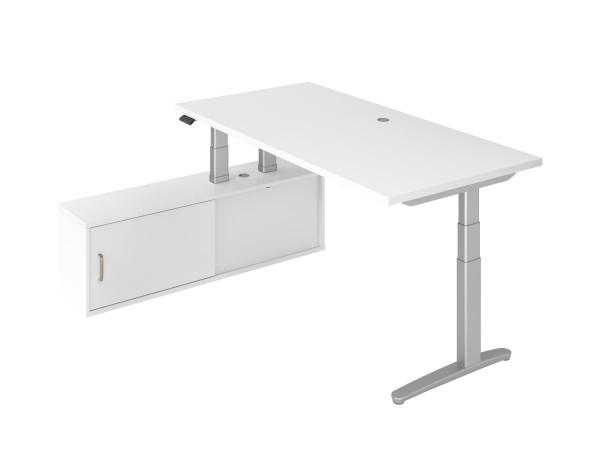 Schreibtisch und Sideboard Kombination