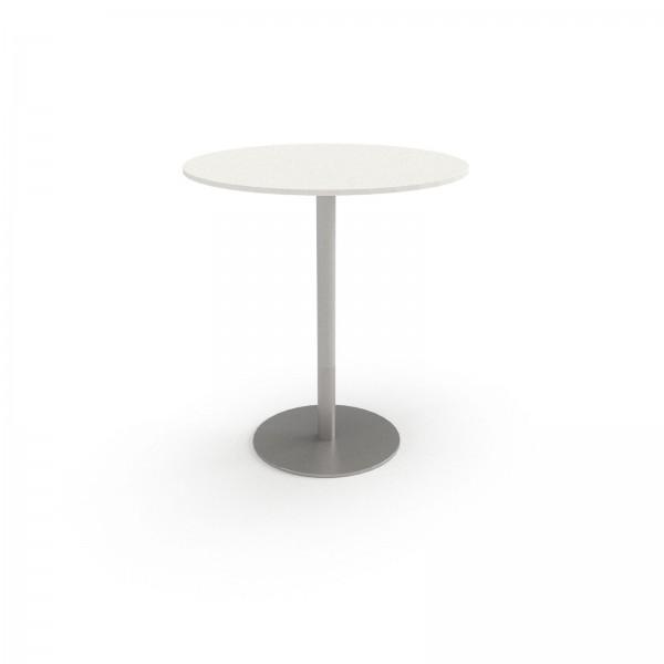 Konferenztisch PLUS: Säulenfuß, Kreisform, 110cm Höhe