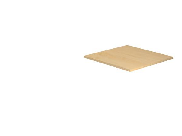 Tischplatte 80 x 80 cm